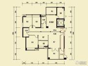 茵悦豪苑4室2厅2卫181平方米户型图
