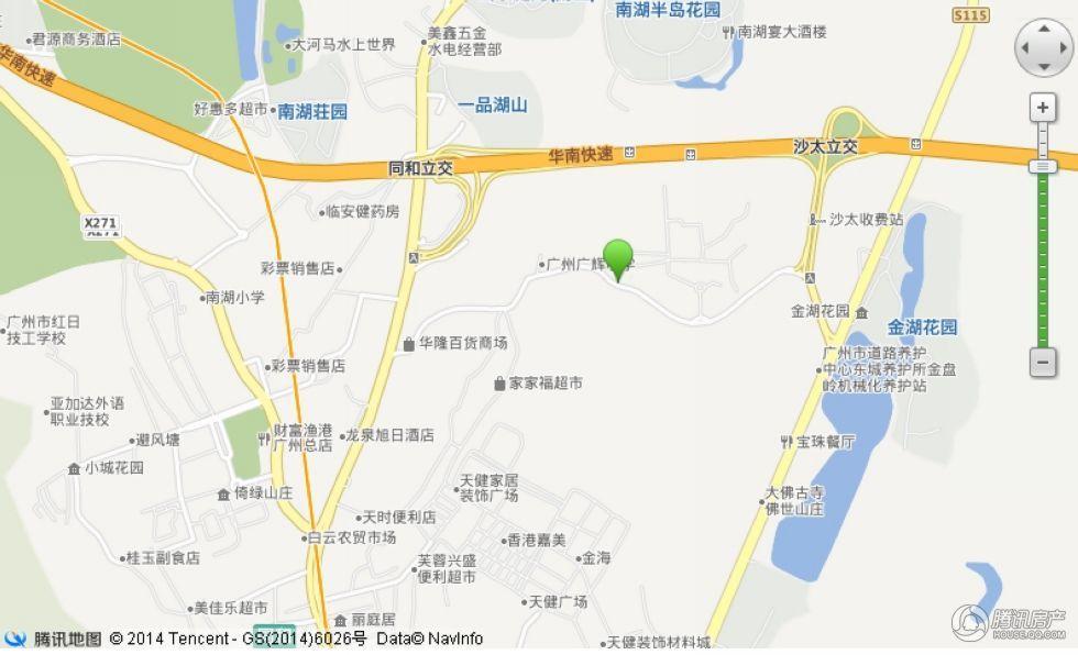 越秀·星汇云城交通图