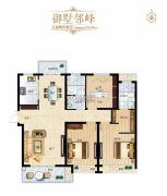 璞�_公馆3室2厅2卫0平方米户型图