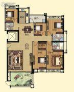 壹品湾5室2厅3卫210平方米户型图