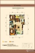 中建长清湖3室2厅2卫119平方米户型图