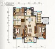 碧桂园・珑悦3室2厅2卫115平方米户型图