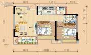 春晖国际城2室2厅1卫0平方米户型图