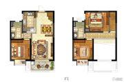 保利中央公园3室1厅2卫130平方米户型图