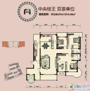 国润翠湖・云府0室0厅0卫0平方米户型图