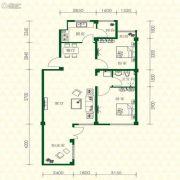 丽江苑3室2厅2卫95平方米户型图
