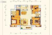 保利锦江里3室2厅2卫118平方米户型图
