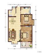 华建新城2室2厅1卫0平方米户型图