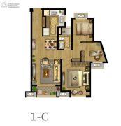 钰龙旭辉半岛2室2厅1卫0平方米户型图