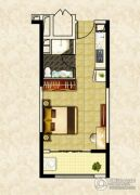 南昌恒大名都1室1厅0卫47--48平方米户型图