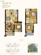 世茂海峡城0室0厅0卫105平方米户型图