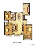 宝石花园3室2厅2卫0平方米户型图