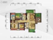皇庭珠宝城3室1厅1卫0平方米户型图