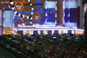 力帆红星国际广场紫檀庄园沙盘图