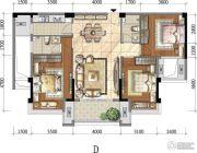 铂金汉宫3室2厅2卫117平方米户型图