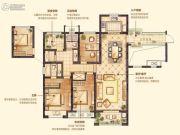 红豆香江豪庭3室2厅2卫138平方米户型图