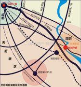 精华房产・东城华府规划图
