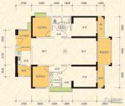 恒怡湾4室2厅3卫180平方米户型图