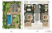 华凯南燕湾3室2厅3卫232平方米户型图