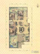 益田瓦萨小镇4室2厅2卫188平方米户型图