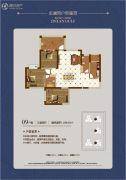 金澜湾3室2厅2卫108平方米户型图