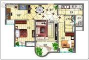 碧桂园・翡翠山3室3厅1卫156平方米户型图