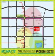 兴盛园MOMA公寓交通图