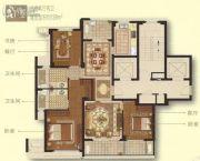 绿城・乐清玉兰花园3室2厅2卫0平方米户型图