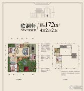 碧桂园十里江南4室2厅2卫0平方米户型图