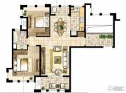 尼德兰花园2室2厅1卫97平方米户型图