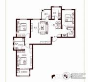花香漫城3室2厅2卫121平方米户型图