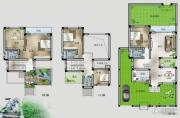 桂林留园5室2厅4卫0平方米户型图