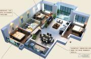 颐和山庄3室2厅2卫139--141平方米户型图