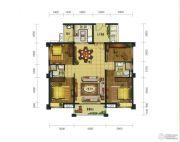 珑翠4室2厅2卫107--135平方米户型图