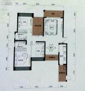 恒裕水墨兰亭4室2厅2卫144平方米户型图