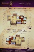 凤凰新城2室2厅2卫110平方米户型图