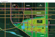 绿地澜庭交通图