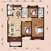 宝能水岸康城3室2厅2卫114平方米户型图