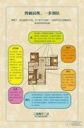 清山・漫香林3室2厅2卫136平方米户型图