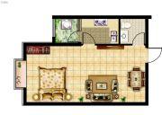 紫睿天和1室1厅1卫0平方米户型图