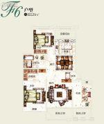 塞拉维3室2厅1卫122平方米户型图