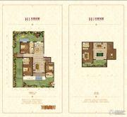清山・漫香林3室2厅2卫137平方米户型图