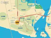 海投・自贸城交通图