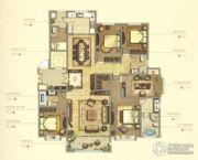 御赵金台5室2厅2卫257平方米户型图
