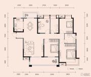 梧桐邑・九棠府4室2厅2卫136平方米户型图