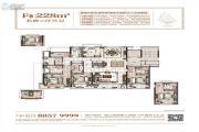 姚江金茂府5室2厅3卫228平方米户型图