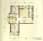 中景盛世长安3室2厅1卫0平方米户型图
