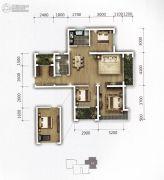 �上II熟地当归3室2厅1卫112平方米户型图