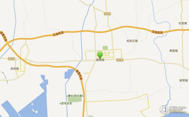 唐人宜居交通图