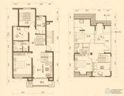 长河湾独栋别墅0平方米户型图